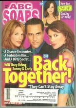 ABC Soaps in Depth Magazine July 19, 2005 GH Sonny and Carly Back Together
