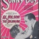 Sonny Boy The Singing Fool Starring Al Jolson 1928 Sheet Music