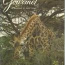 Gourmet Magazine July 1973 Kenya's Nairobi National Park on Cover/Cheese/Poitou