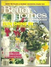 Better Homes and Gardens Magazine July 1990 Summer Bright Decorating/Gardens