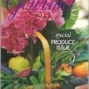 Gourmet Magazine July 2001 Special Produce Issue Family Farms/Potatoes/Cheese
