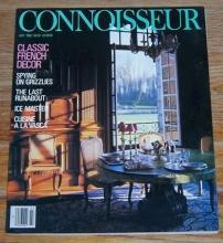 Connoisseur Magazine July 1986 San Sebastian Style, Grizzlies, French Decoration