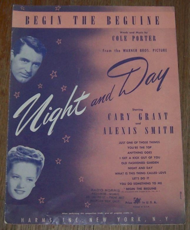 Begin the Beguine From Night and Day starring Gary Grant and Alexis Smith 1935