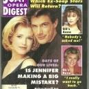 Soap Opera Digest Magazine August 2, 1994 Melissa Reeves and Jason Brooks DOOL
