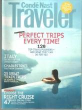 Conde Nast Traveler Magazine August 2008 Versailles/Myanmar/Amalfi Coast