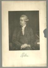 Vintage Picture of Edward Gibbon English Historian and Author