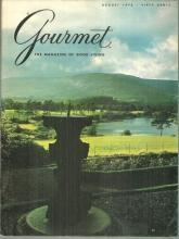 Gourmet Magazine August 1972 Highlands of Scotland on Cover/James Beard/Luncheon