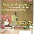 Food and Wine Magazine August 2003 Indian Themed Buffet Cover/No Cook Recipes