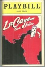 Playbill for La Cage Aux Folles May 1985 Starring George Hearn and Van Johnson