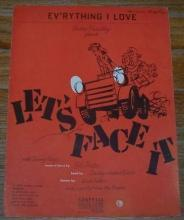 Ev'rything I Love From the Musical Let's Face It starring Danny Kaye