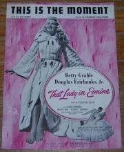 This Is the Moment That Lady in Ermine Starring Betty Grable and Douglas Fairbanks Jr.