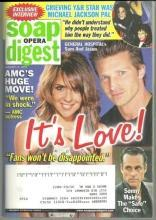 Soap Opera Digest August 25, 2009 General Hospital's Sam and Jason on the Cover