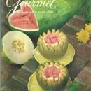 Gourmet Magazine September 1975 Melons of Summer On Cover/Vancouver/Bermuda