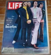 Life Magazine September 13, 1968 The Beatles on the Cover/Designer Fashion