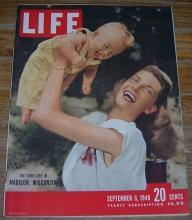 Life Magazine September 6, 1948 The Good Life in Madison, Wisconsin on cover
