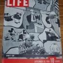 Life Magazine September 26, 1938 Country Fair on the Cover/Clark Gable/Polo