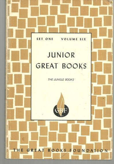 Jungle Books Set One Volume Six by Rudyard Kipling Junior Great Books 1963