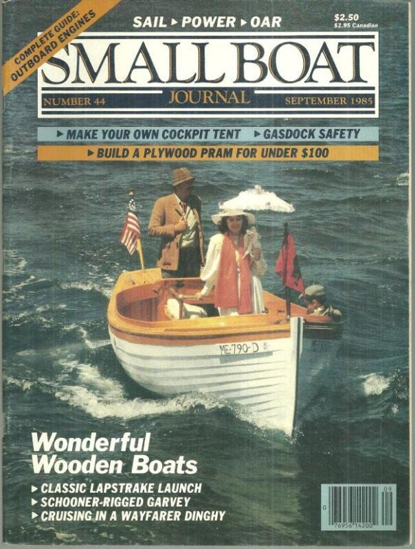 Small Boat Journal Magazine September 2005 Pollywog Cover/Dressing Up a Whaler