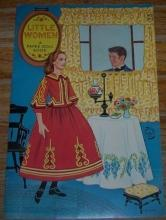 Little Women A Paper Doll Book by Artcraft Uncut Paper Doll Book