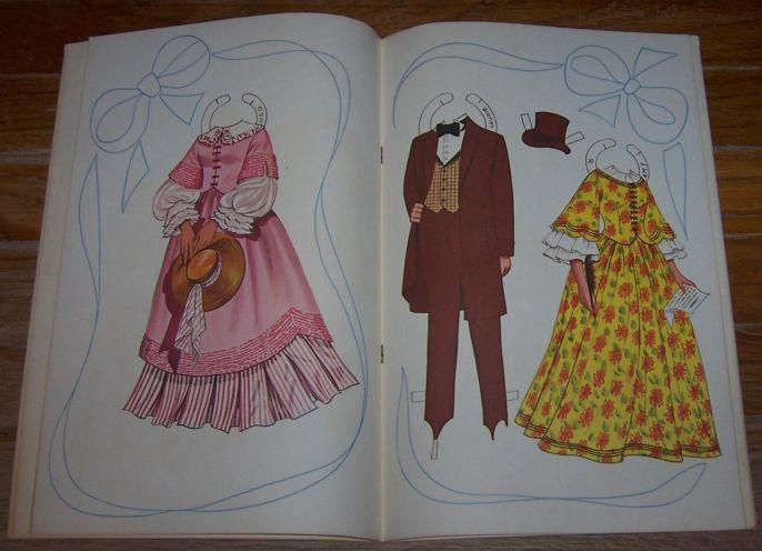 Little Women A Paper Doll Book by Artcraft Uncut Paper Doll Book