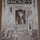 Mickey Mabel Normand Adapted from Mack Sennett's Photoplay Sheet Music 1918