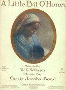 A Little Bit O' Honey 1917 Sheet Music