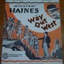 Singing a Song to the Stars From Way Out West Starring William Haines 1930 Music
