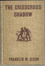 Crisscross Shadow by Franklin Dixon Hardy Boys #32 Brown Tweed Cover 1953