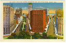 Postcard of Grand Circus Park, Detroit, Michigan