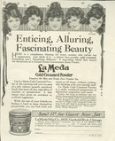 LaMeda Cold Creamed Powder 1921 Magazine Advertisement