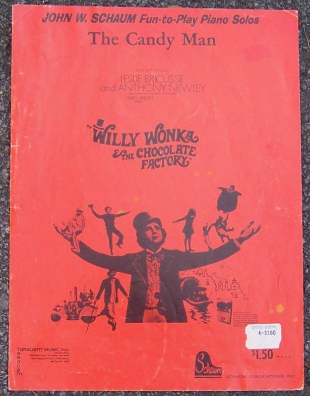 Candy Man From Willy Wonka and the Chocolate Factory Starring Gene Wilder Music
