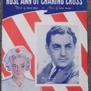 Rose Ann of Charing Cross Sung by Blue Baron and His Orchestra 1942 Sheet Music