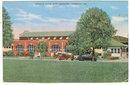 Postcard of Service Club Fort Benning, Georgia
