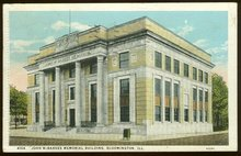 John McBarnes Memorial Building, Bloomington, Illinois