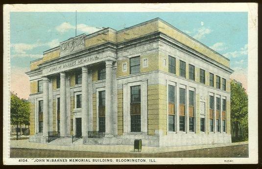 John McBarnes Memorial Building, Bloomington, Illinois