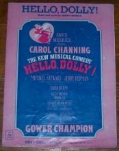 Hello Dolly Starring Carol Channing 1963 Sheet Music