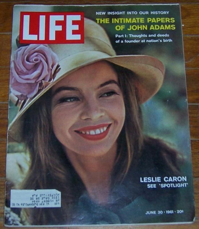 Life Magazine June 30, 1961 Leslie Caron on cover