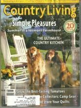 Country Living Magazine June 1998 Simple Pleasures in Vermont