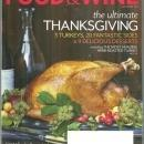 Food and Wine Magazine November 2012 The Ultimate Thanksgiving/Best Food Towns