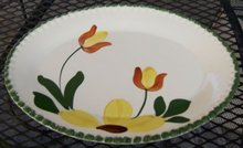 Blue Ridge Mountain Meadow Serving Platter