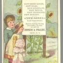 Victorian Trade Card for Church and Phalen Spring Clothing With Children