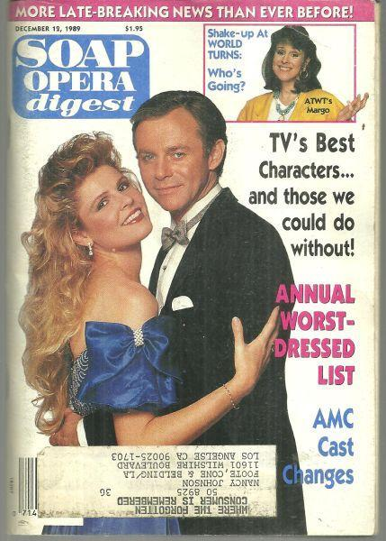 Soap Opera Digest December 12, 1989 General Hospital