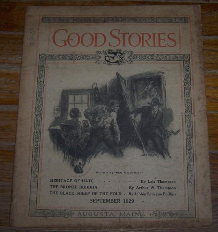 Good Stories Magazine September 1929 Vintage Fiction, Poetry, Recipes, Household