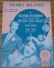 Dearly Beloved You Were Never Lovelier starring Rita Hayworth and Fred Astaire