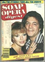 Soap Opera Digest Magazine June 1978  Susan and Bill Hayes from Days on Cover