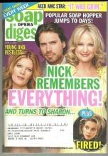 Soap Opera Digest Magazine June 3, 2008 Young and Restless Nick Remembers