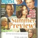 Soap Opera Digest Magazine June 2, 2009 Summer Preview on the Cover
