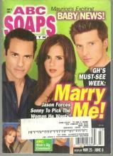 ABC Soaps in Depth June 8, 2004 General Hospital, Marry Me On Cover