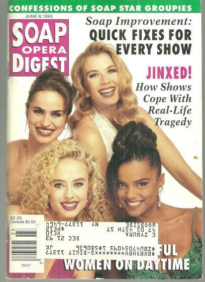 Soap Opera Digest Magazine June 8, 1993 Most Beautiful Women on Daytime Cover