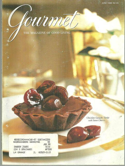 Gourmet Magazine June 1996 Pittsburgh, Focus on Europe, Wales, St. Johns VI